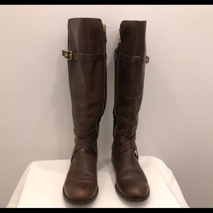 Cole Hann Dark Brown Leather Boots